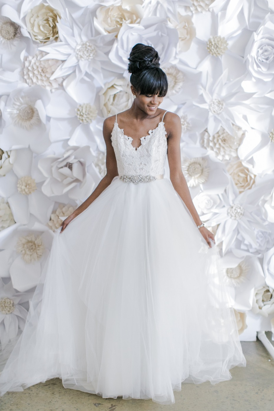 wedding dress for your fall wedding