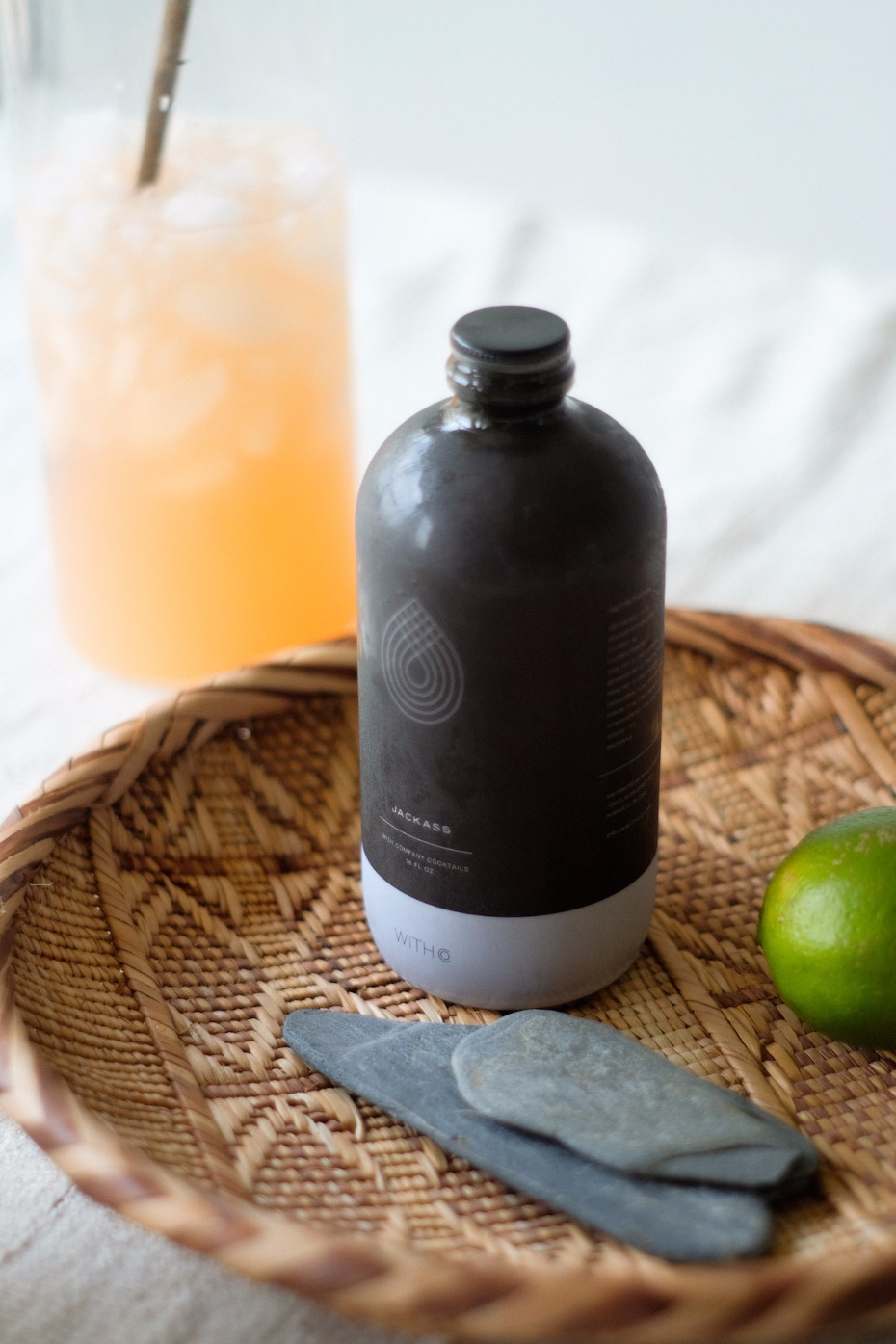 WithCo creates bottled cocktails using only fresh, real ingredients and no preservatives.