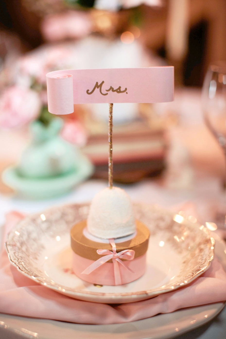 sweet table favors