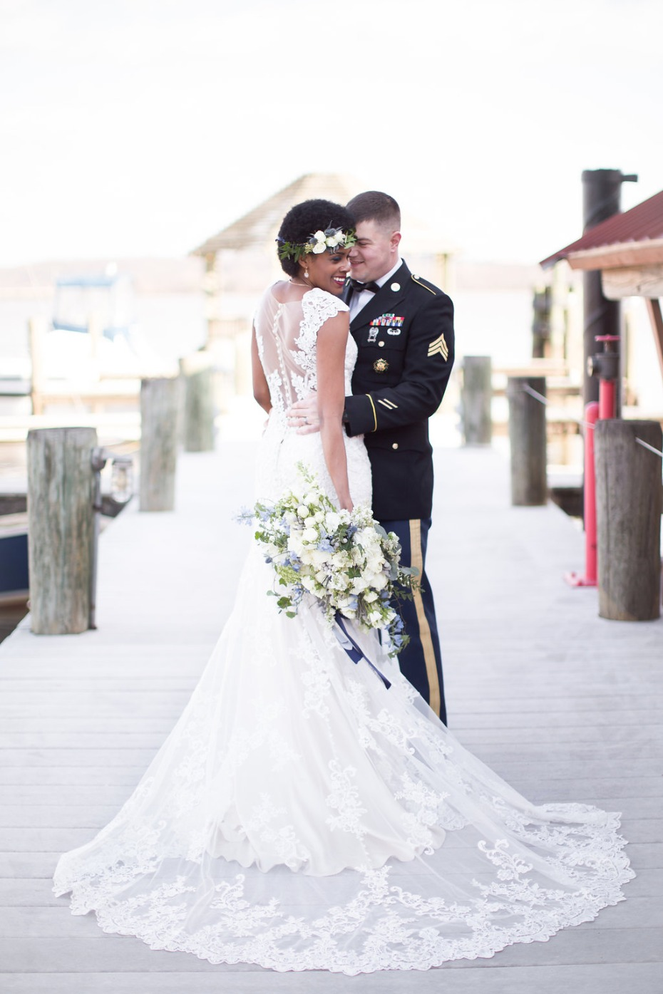 beautiful waterfront elopement inspiration