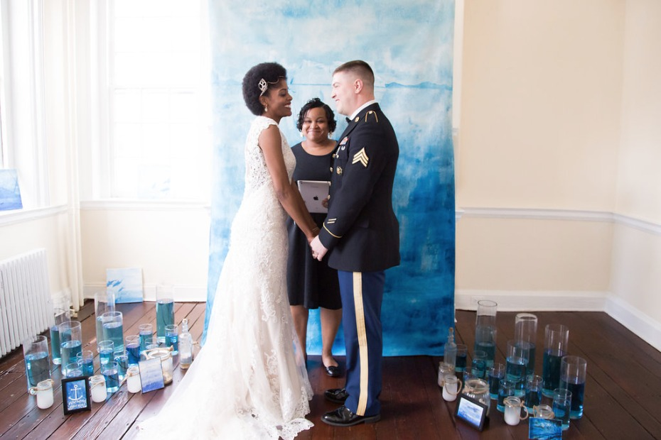 Styled elopement turned real-life vow renewal