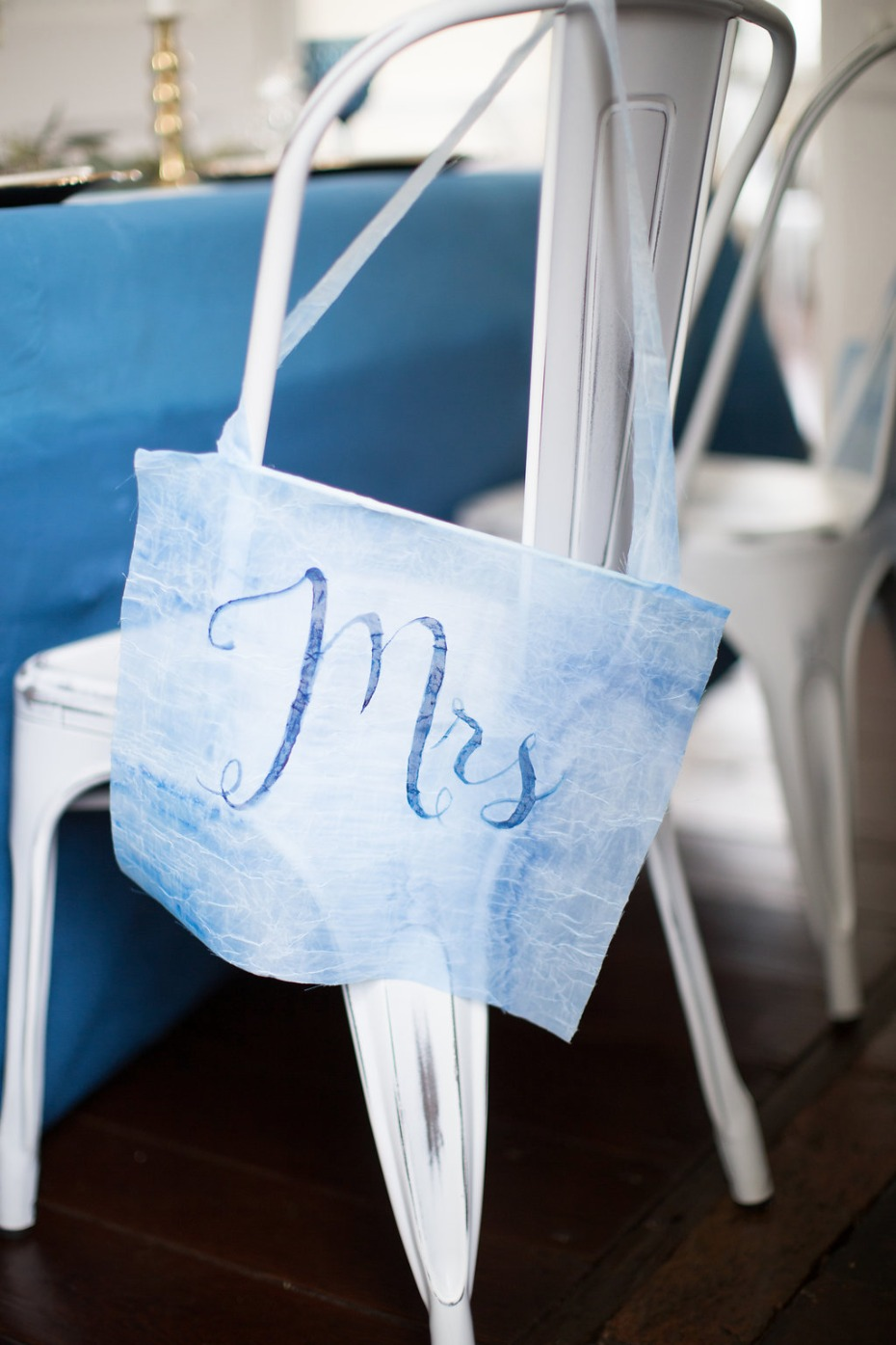 Mrs chair sign idea