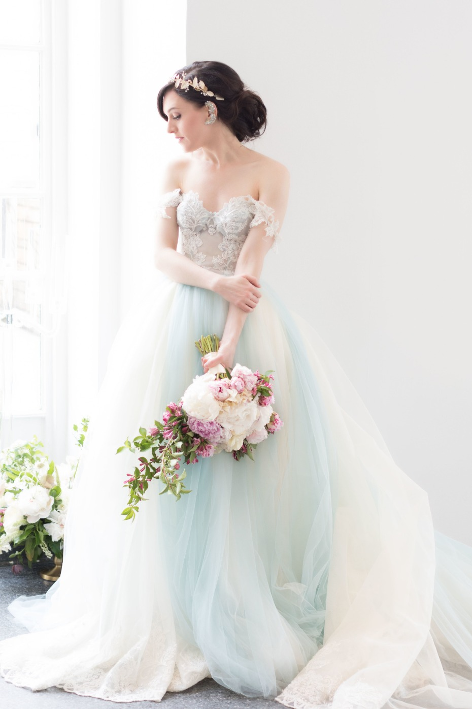 Dreamy blue gown from Galia Lahav