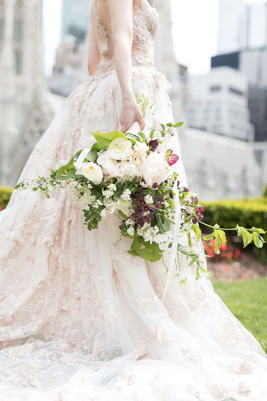 This bouquet is to die for