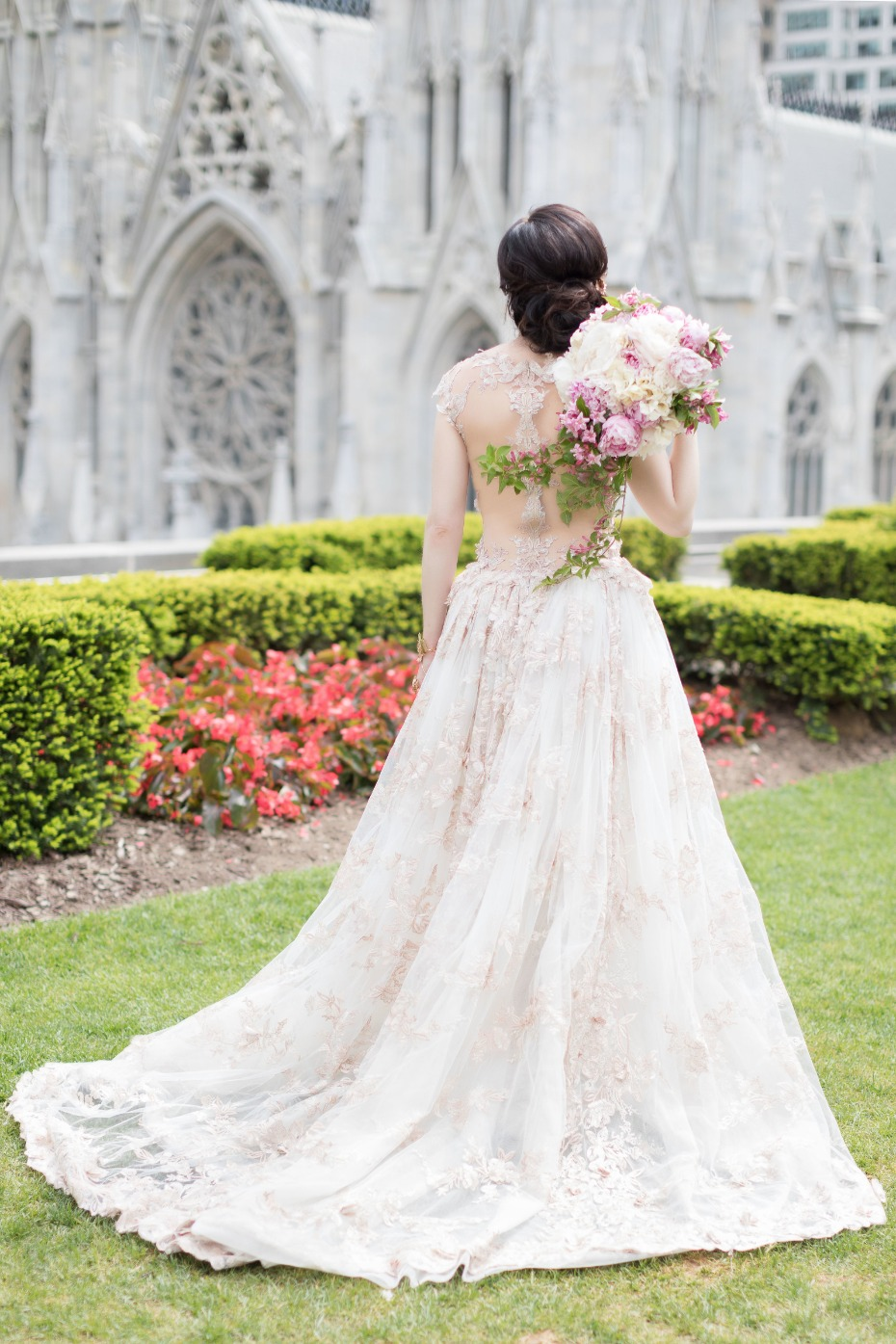Gorgeous Galia Lahav gown