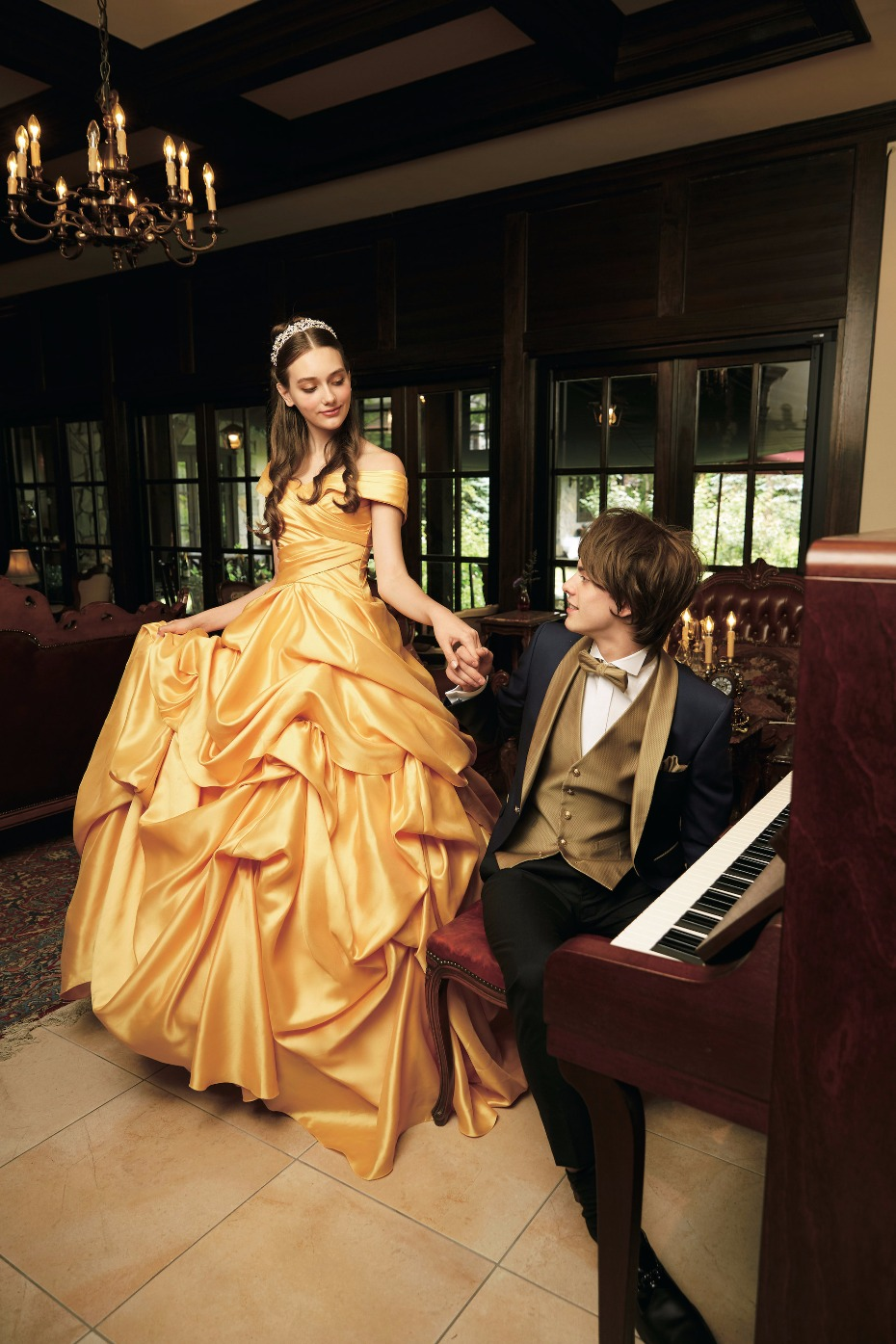 Belle Disney Princess Wedding Dress
