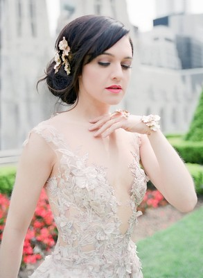 Lena Hall is a Galia Lahav Bride