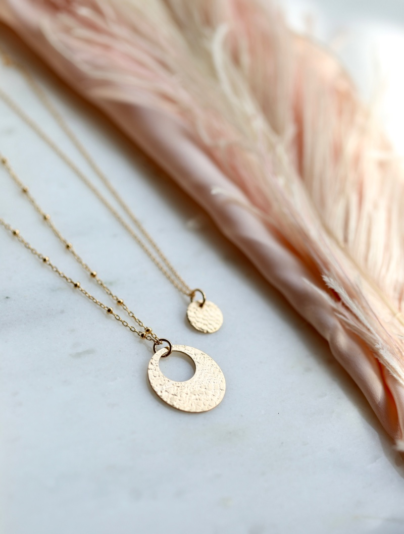 Mother Daughter necklace sets, choose from our classic styles in sterling, gold and rose gold.