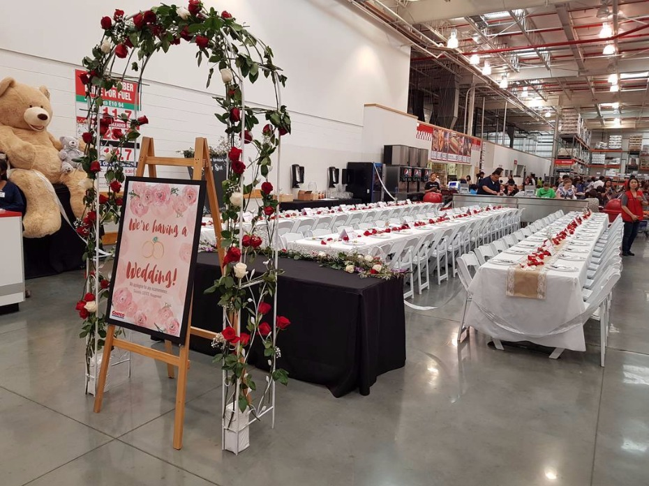 This Costco Wedding Was All Kinds Of Special