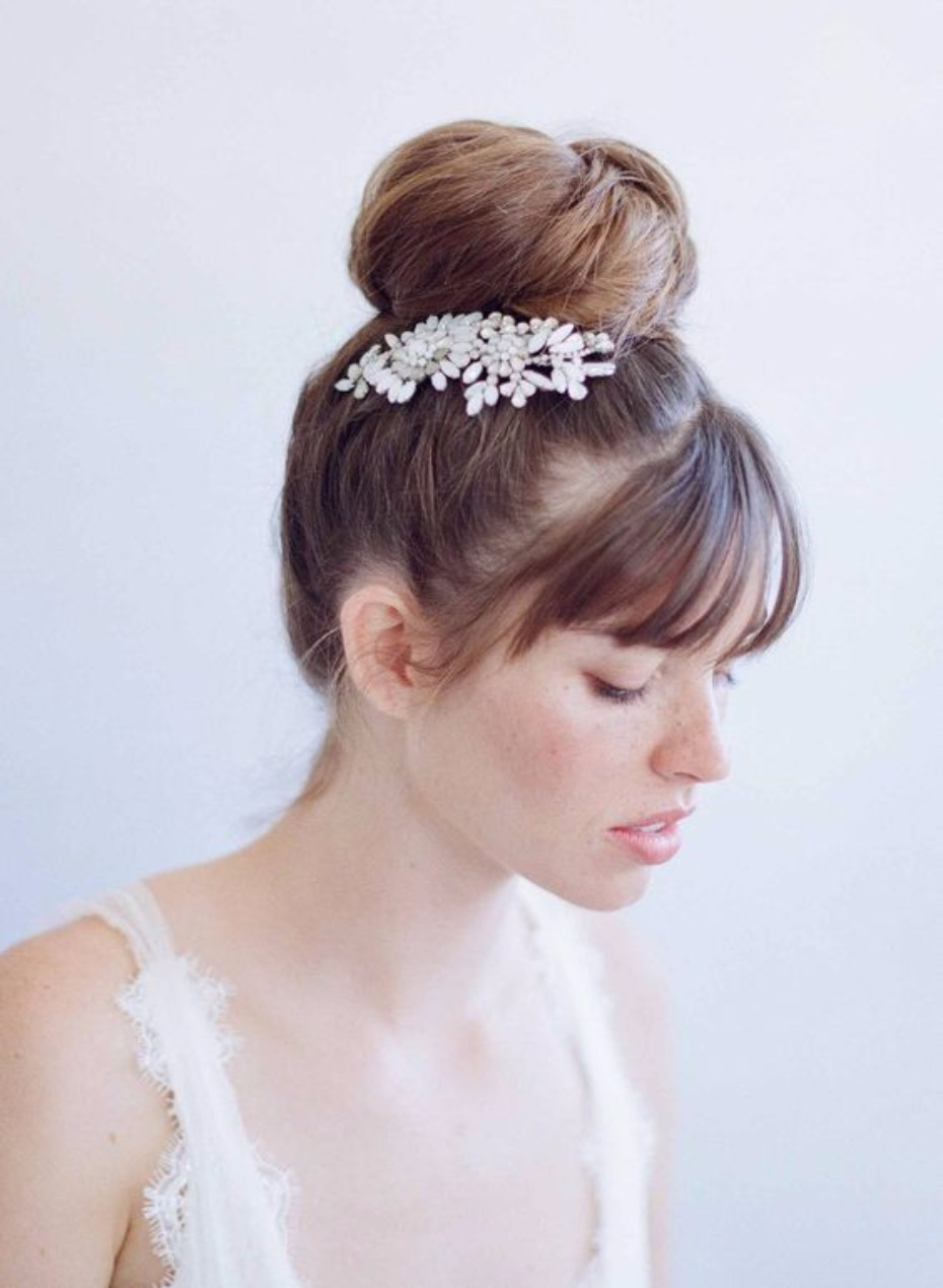 wedding hair like anastasia's from 50 shades freed