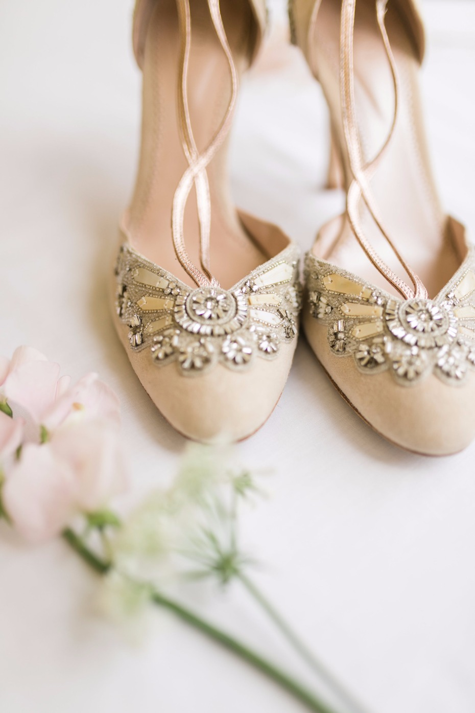 Gorgeous heels for the bride