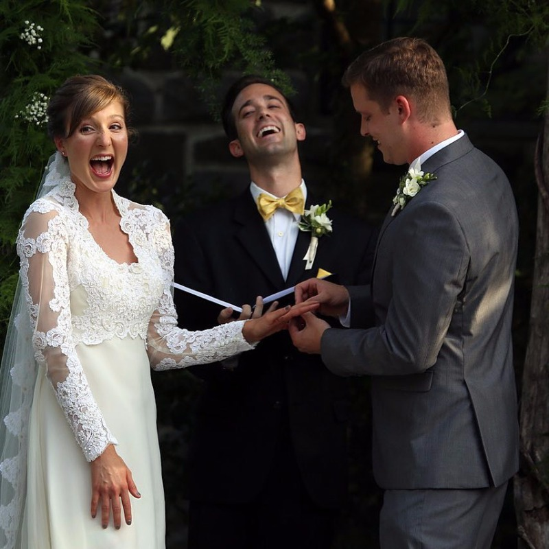 We provide custom coordinators to fit every couples' needs allowing you to enjoy your day with your loved ones!