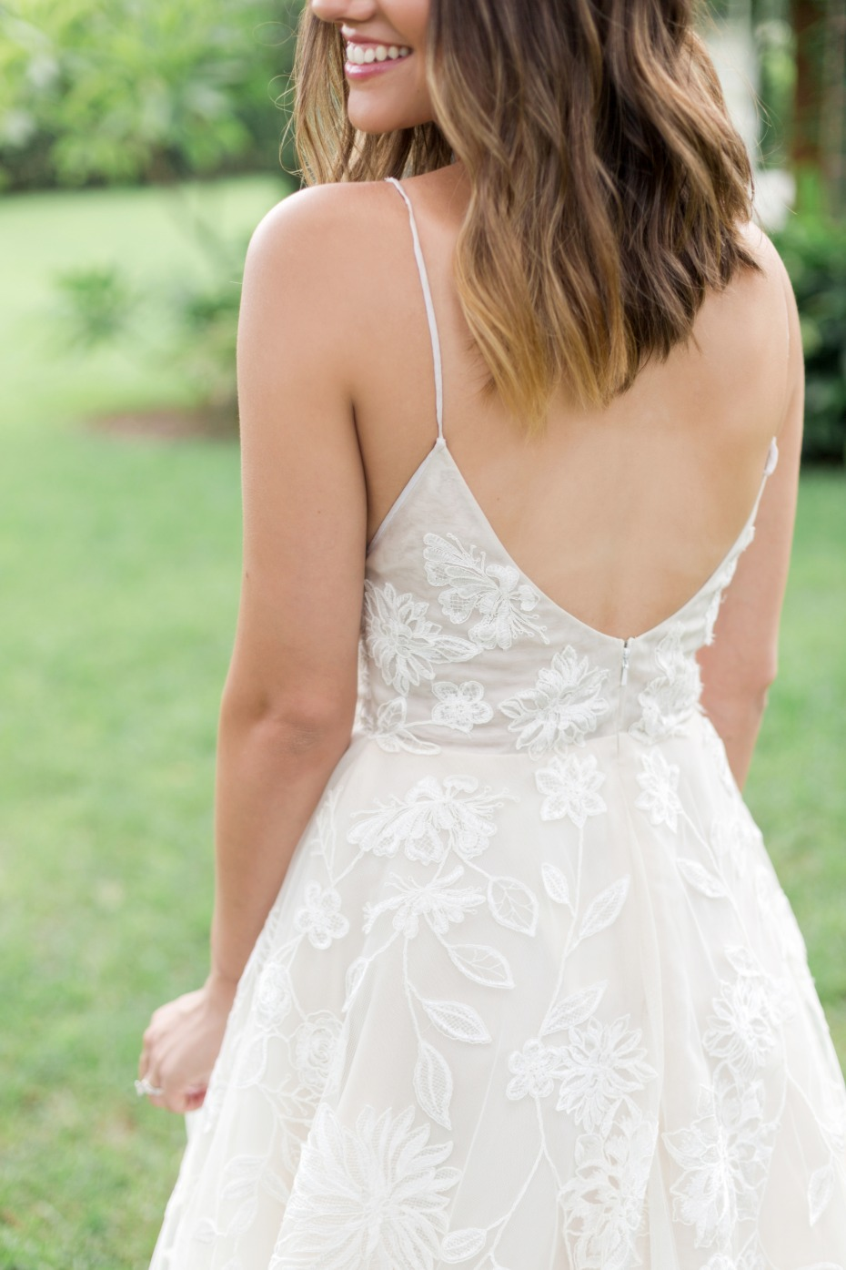 sweet and simple wedding dress