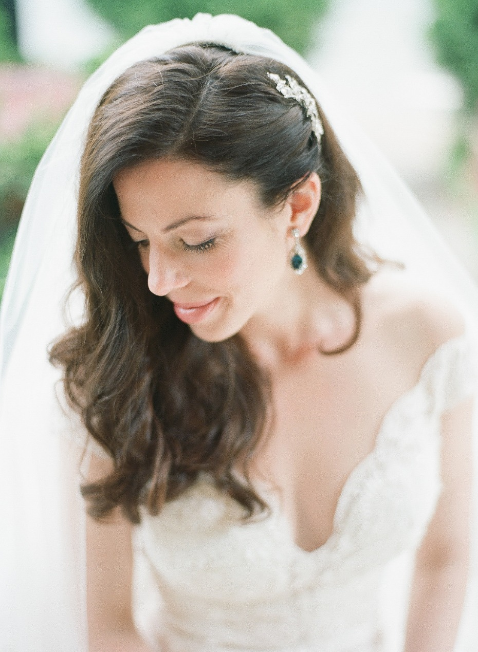 bridal style and hair accessories