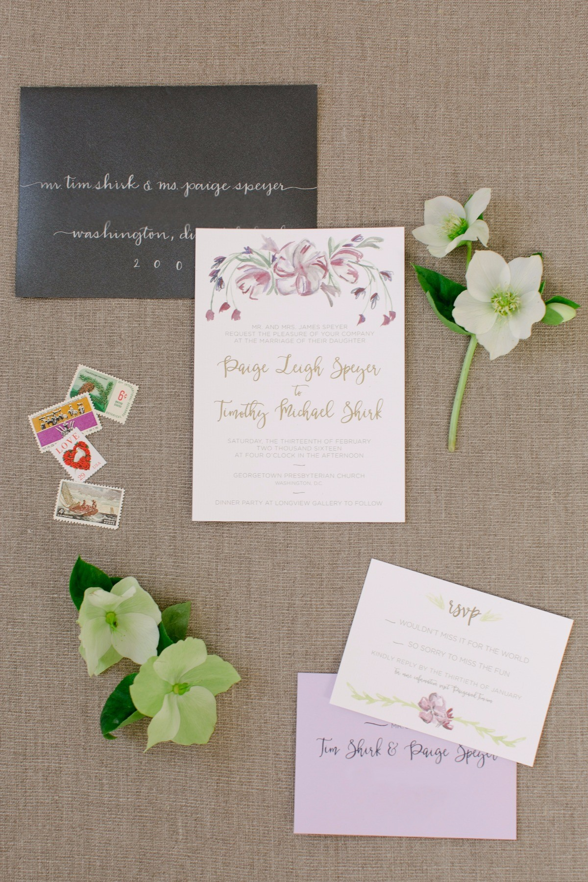 Type A Invitations