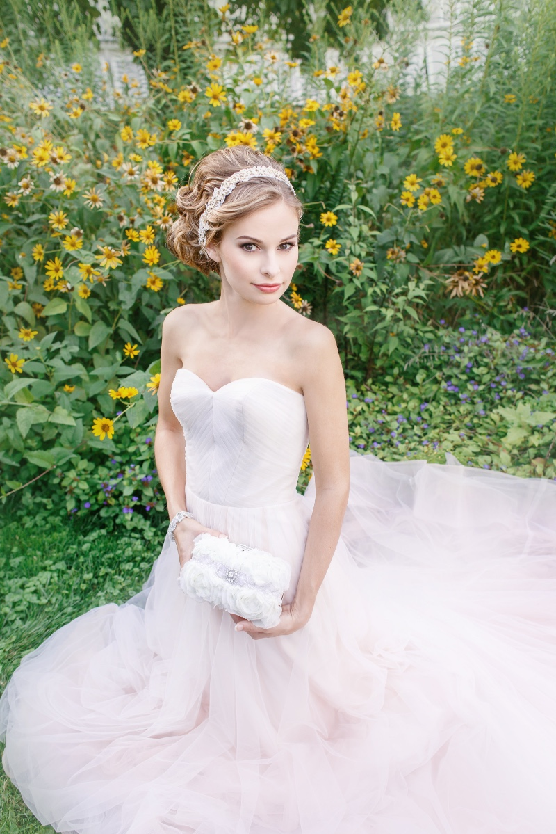 Finish your bridal look with dreamy & romantic bridal accessories.