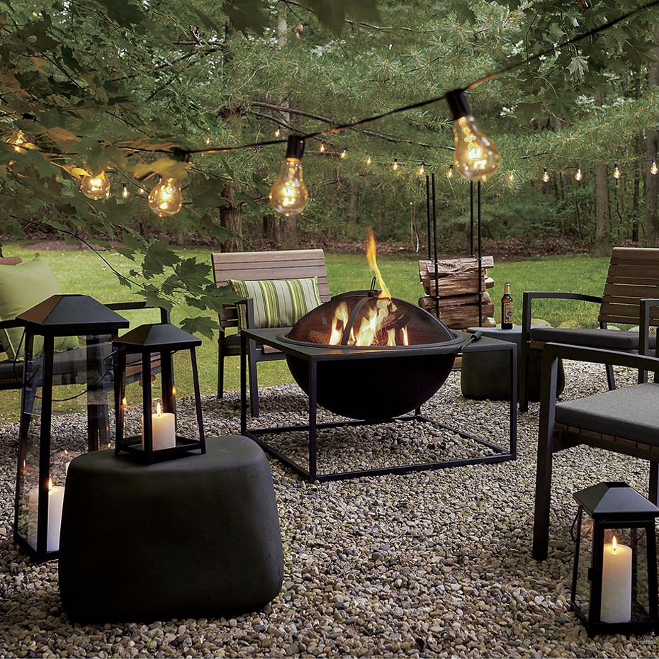 outdoor entertaining idea from @Crateandbarrel