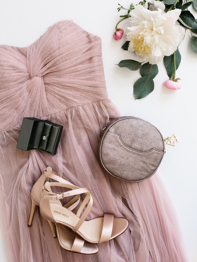 Fall in love with Tulle Dresses from Revelry! Paired perfectly with rings from Everly Rings and Bags from Kelly Wynne