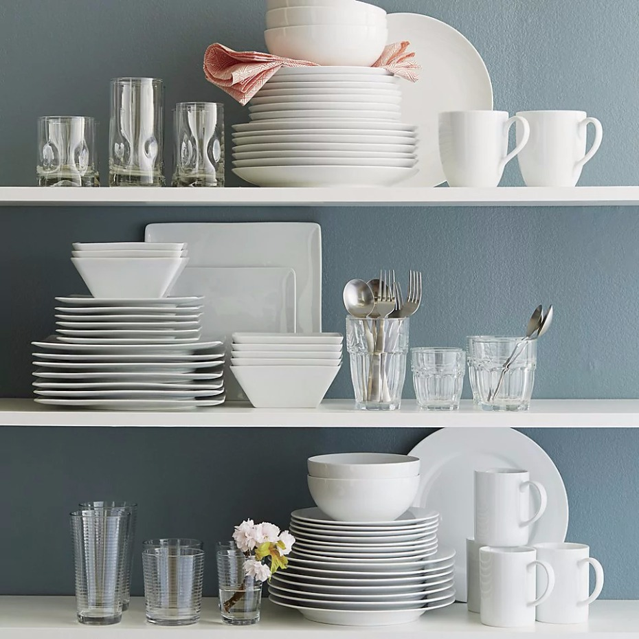 Aspen Dinnerware collection from @crateandbarrel