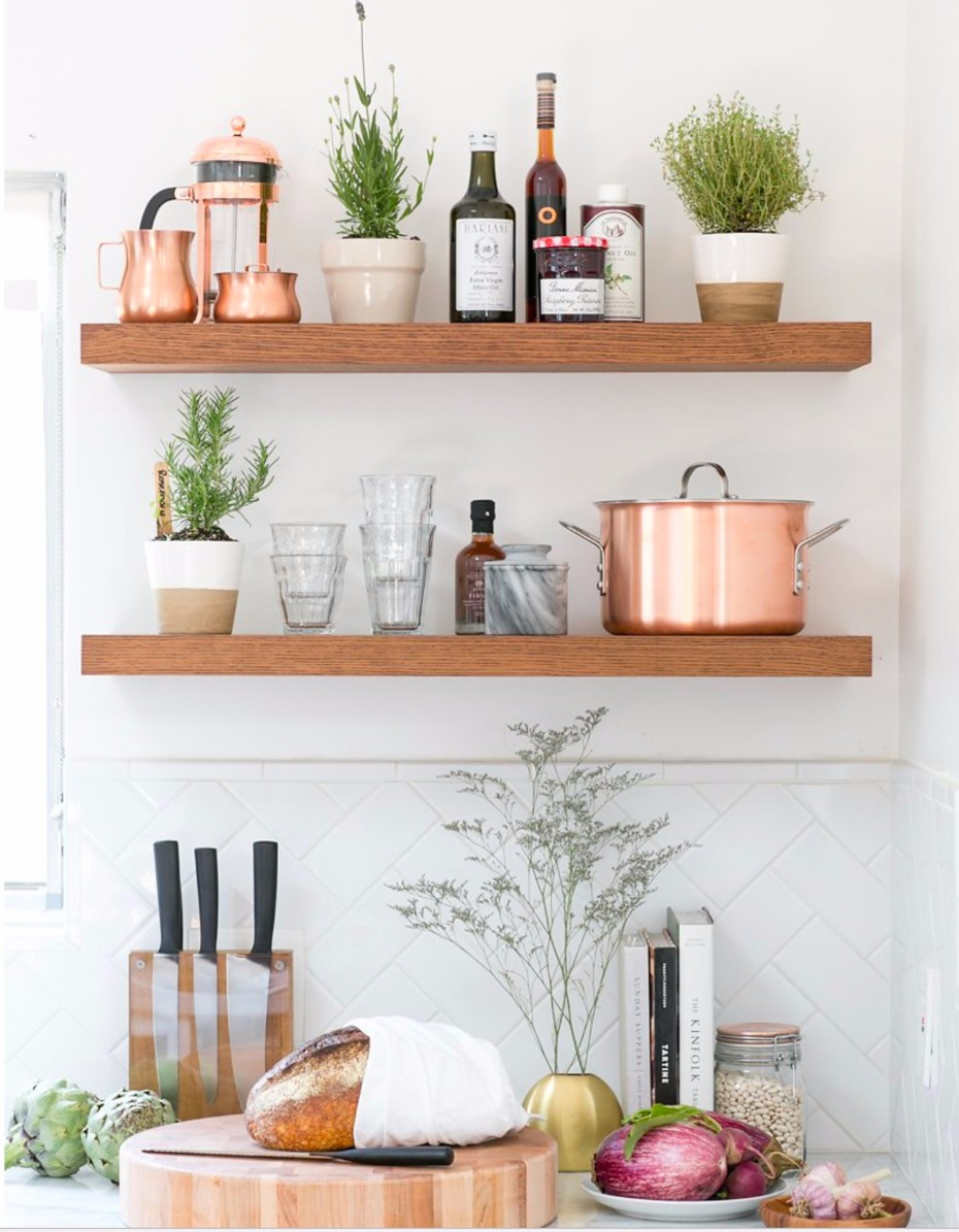 how to set up a copper kitchen