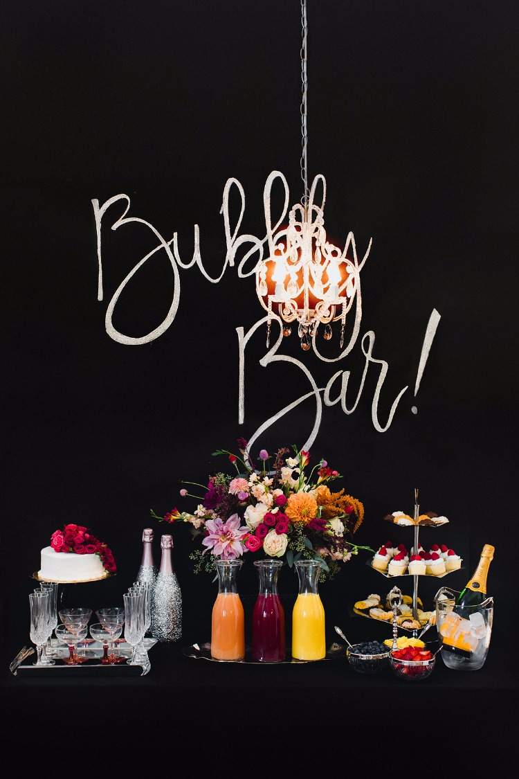 How To Set Up A Bubbly Bar With Elleffe Design