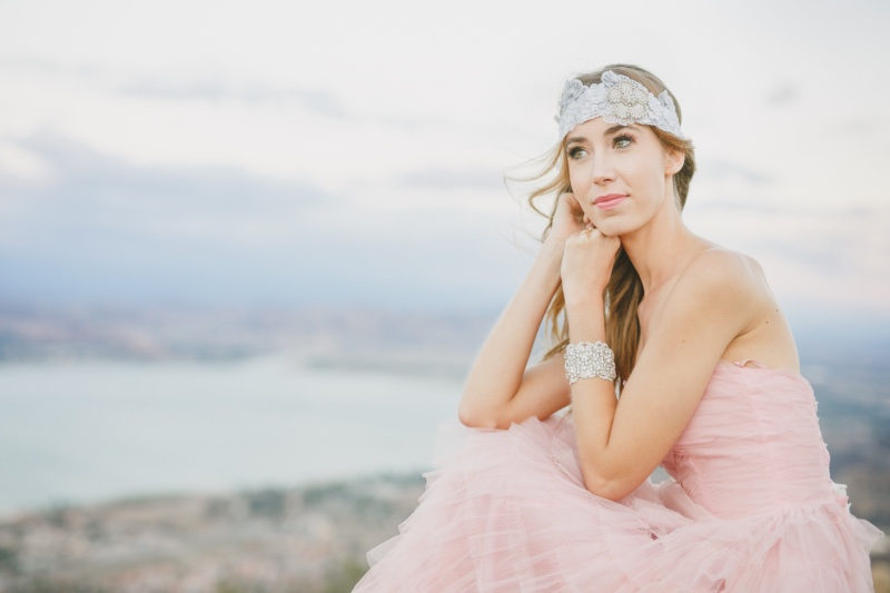Finish your bridal look with glamorous bridal accessories.