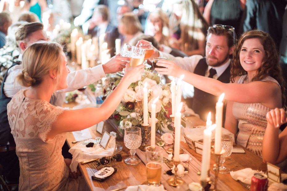 Cheers to this brewery wedding