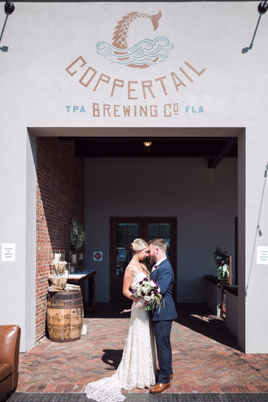 Coppertail brewery wedding