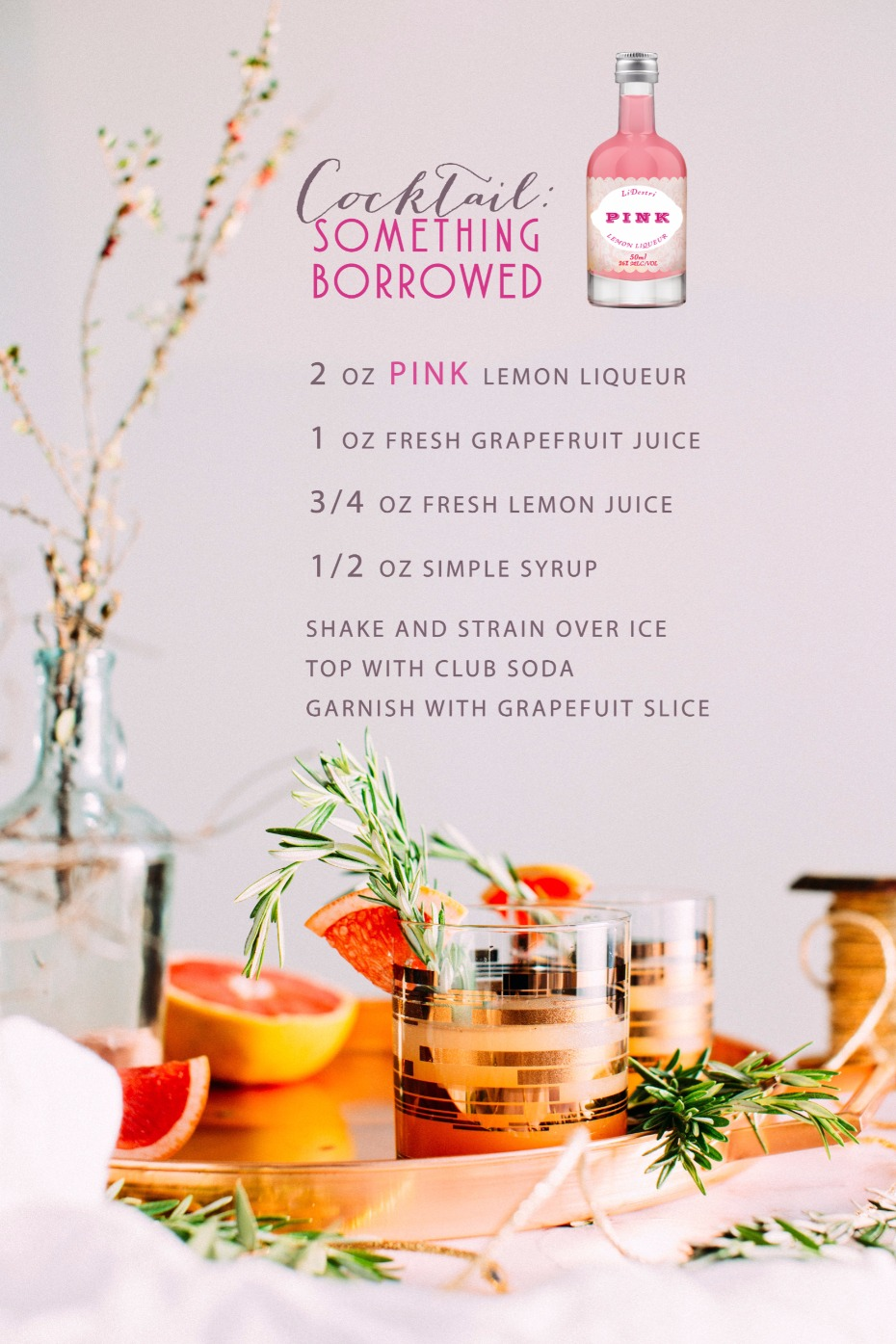 Something Borrowed signature cocktail