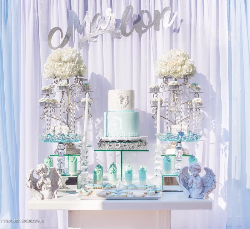 Wedding Dessert Tables that Sparkle with Opulent Treasures Glamorous Bling!