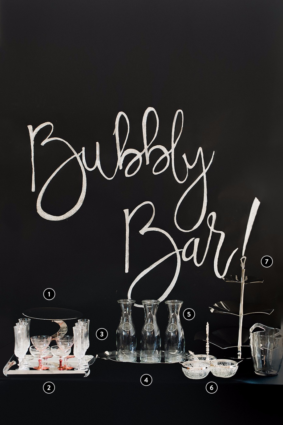 How to set up a Champagne bar
