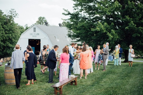 How To Have A Backyard + Chic Wedding Day