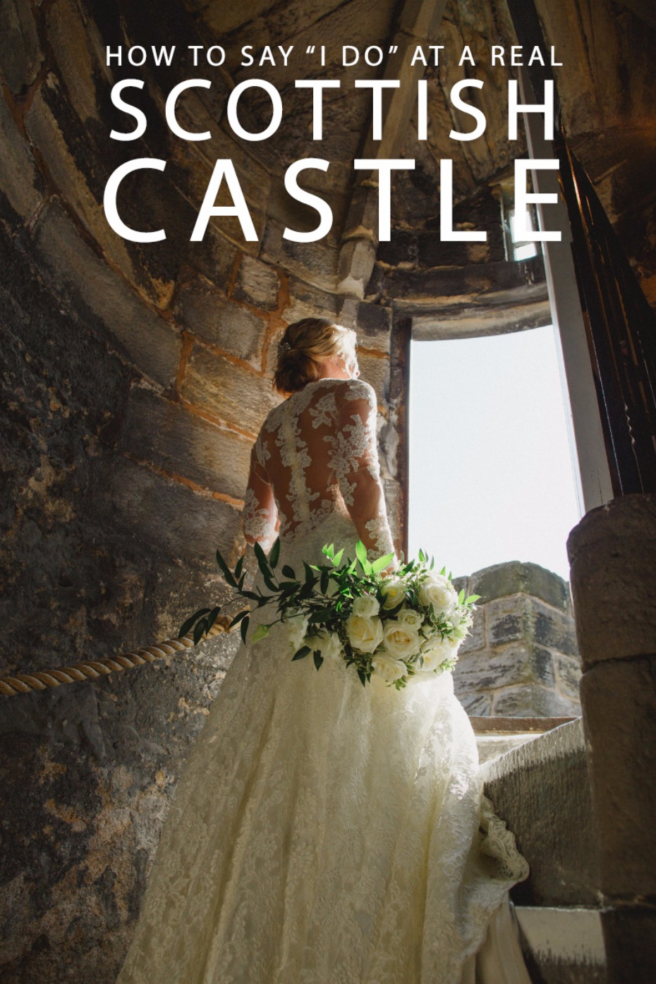 how to say i do at a real scottish castle
