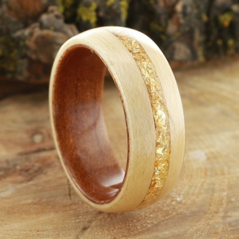Mens bentwood wedding ring. Made all by hand. Now excepting custom orders.