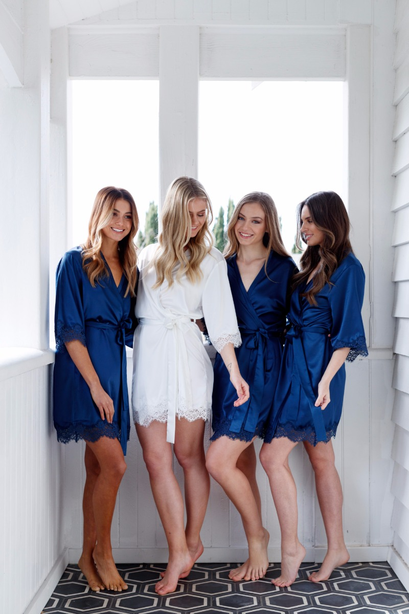 Satin robes perfect for your bridal party