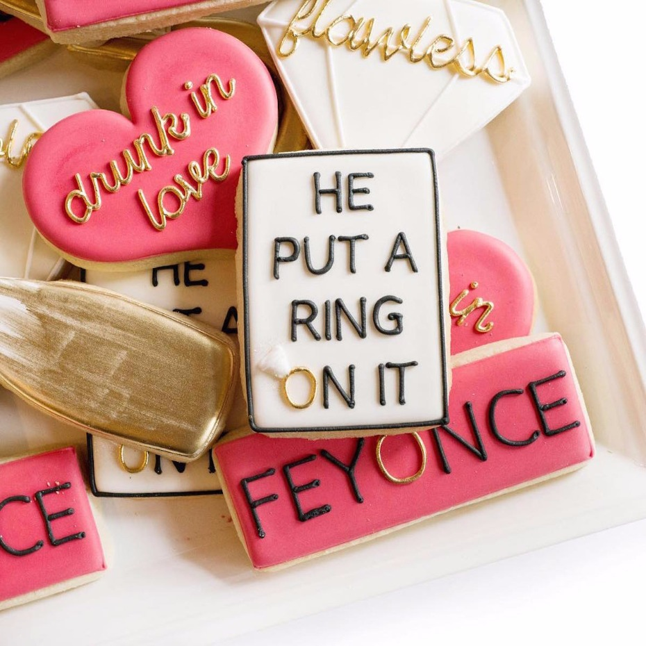 sugar cookies for your bridal shower