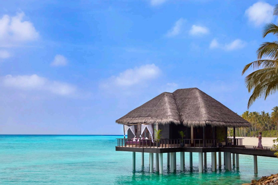 honeymoon hot spot One&Only One Rah, Maldives