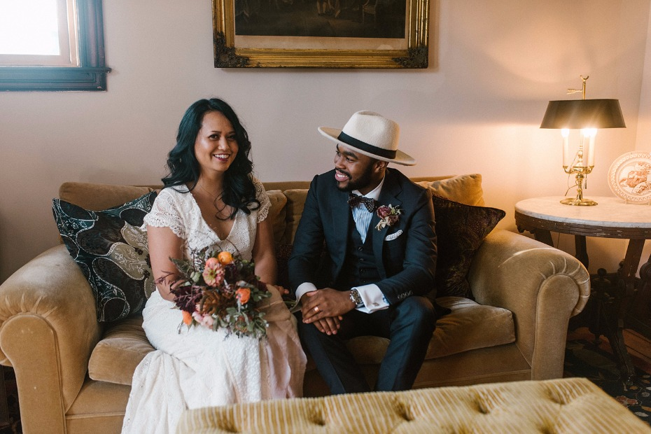 At home elopement ideas in Detroit