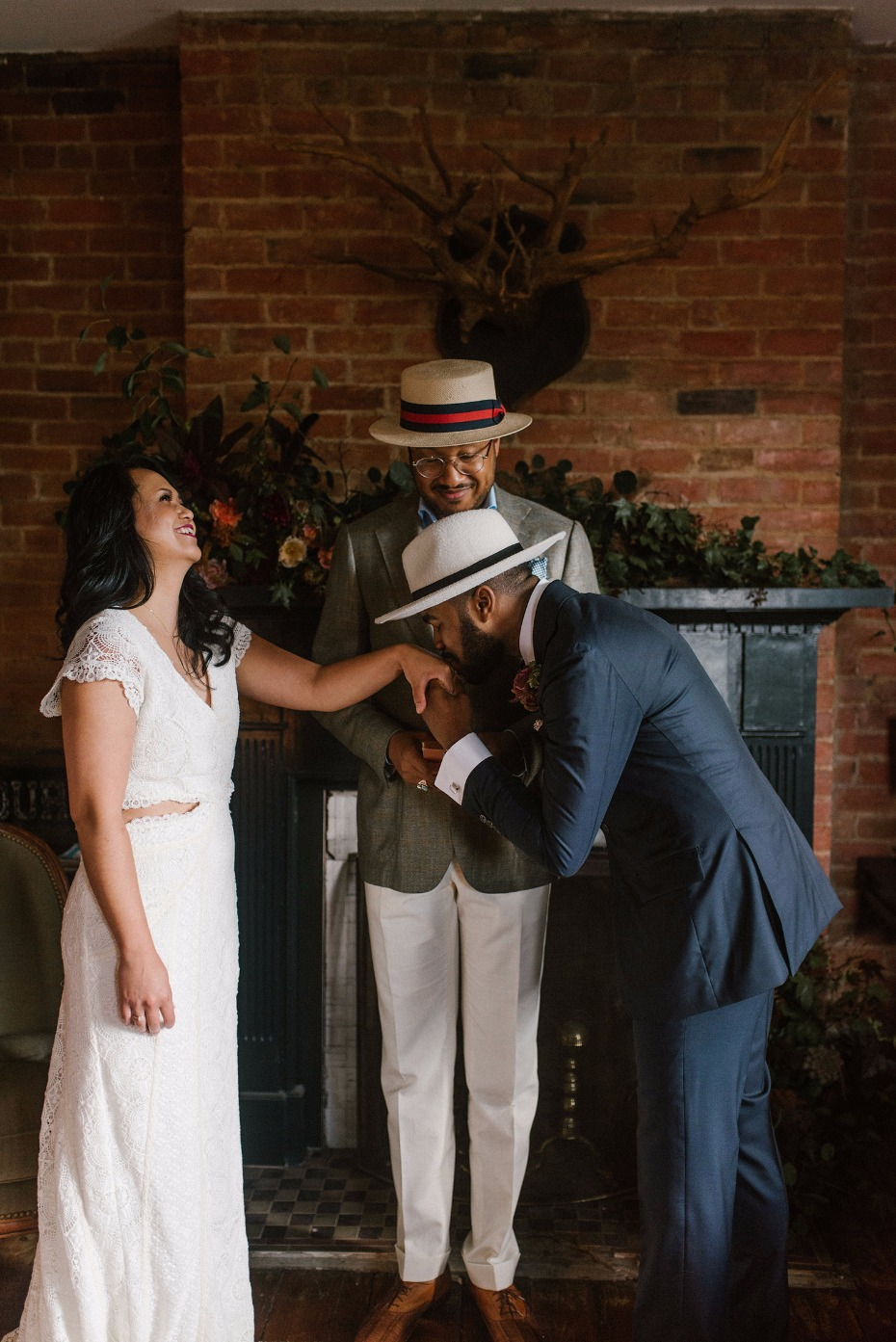 At-home elopement ideas from Detroit