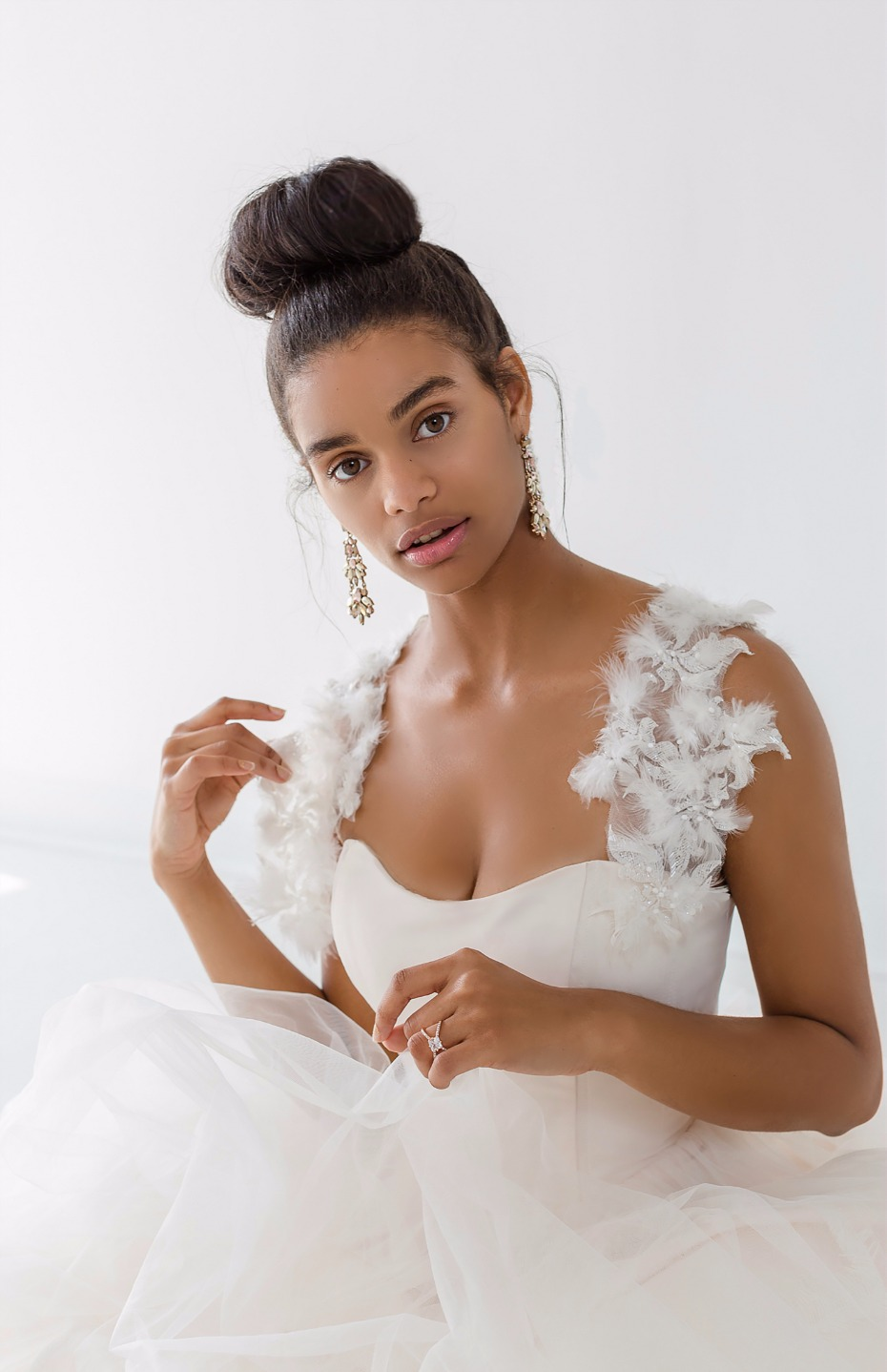 Ivy & Aster Fall 2018 Bridal Collection Flutter Capelet