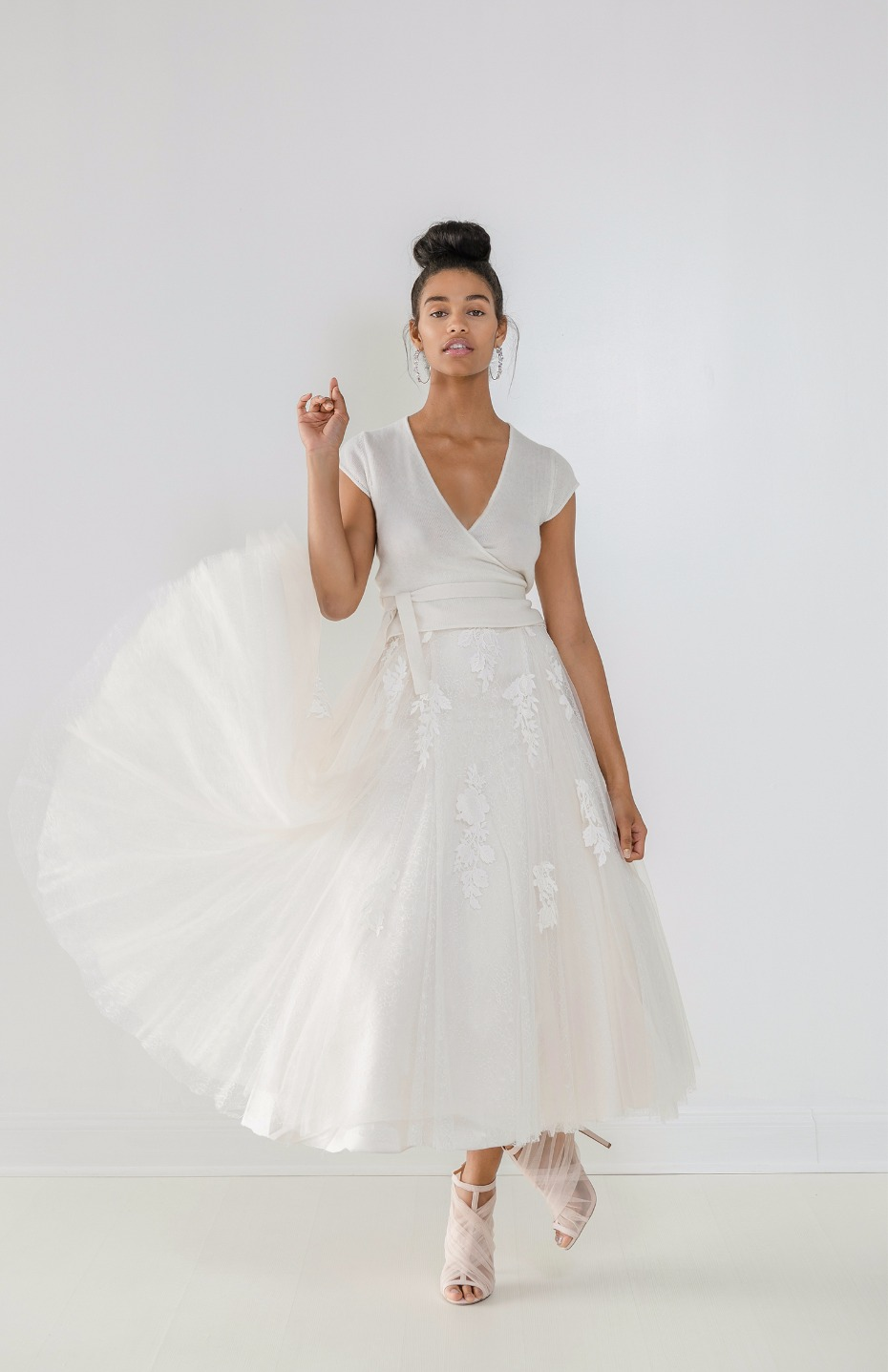 Ivy & Aster Fall 2018 Bridal Collection Demi Sweater & Darcy Skirt