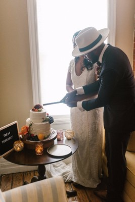 How to Have a Cozy Beautiful At-Home Elopement