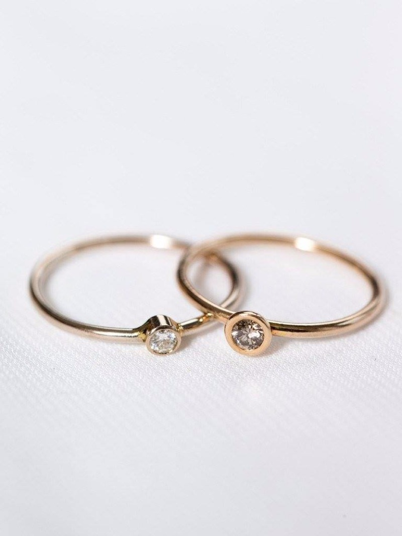 We love the Zoe Ring as a gift for your BFF or your sister. She's a darling gift!