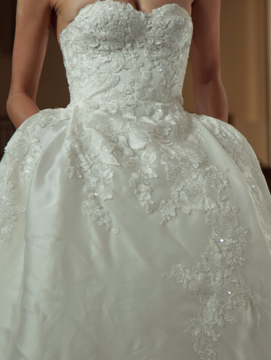 What should i wear under my wedding dress for What to wear under strapless wedding dress
