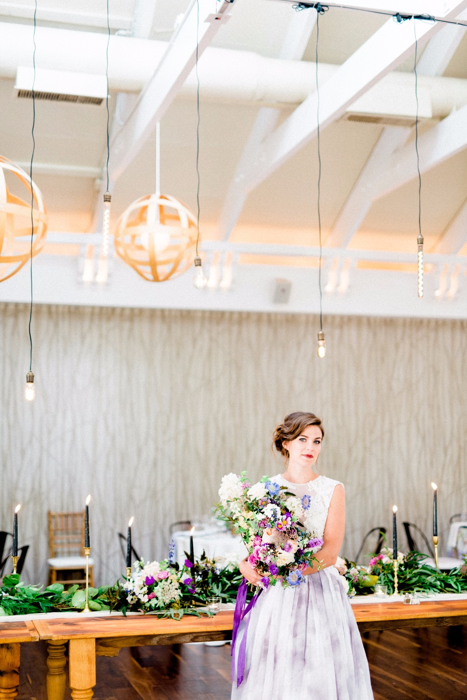 Airy and bright reception