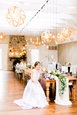 How To Have A Purple Watercolor Wedding