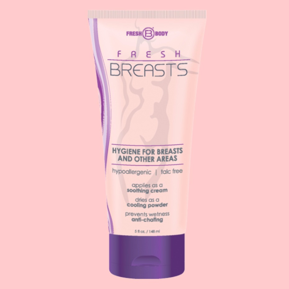 Fresh Breasts is deodorant for your boobs
