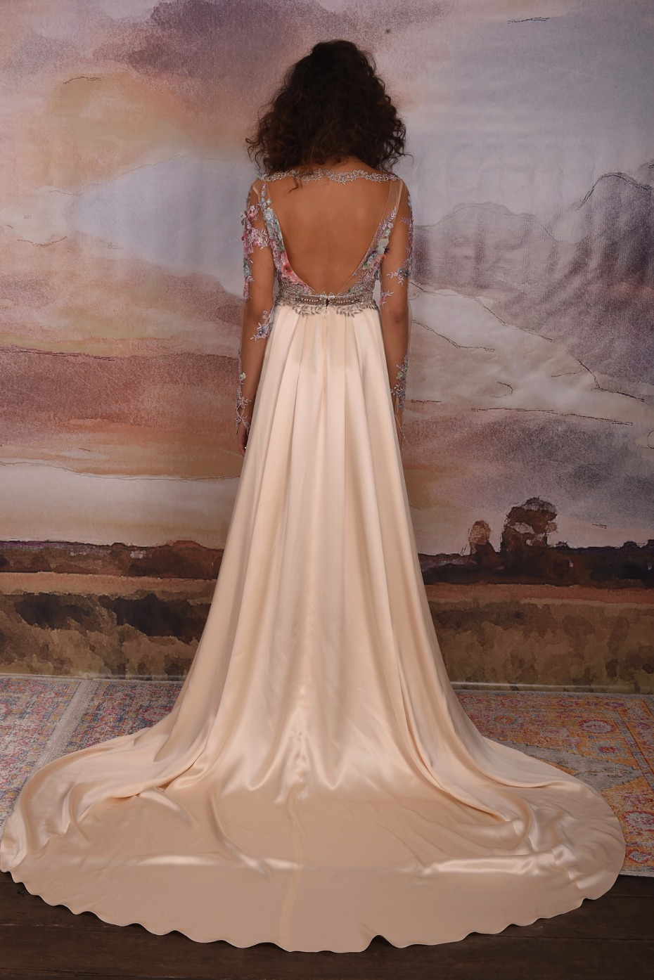 Claire Pettibone Vagabond Collection 2018 Santorini