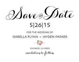Audrey Free Printable Wedding Invites