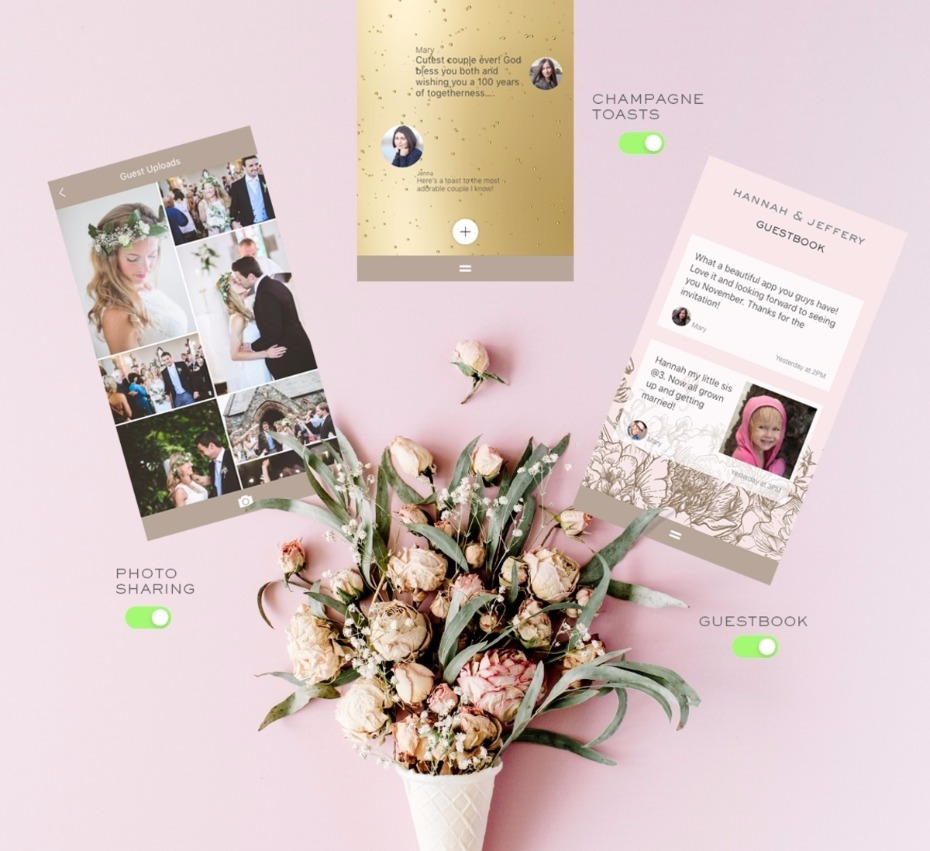 fun interactive elements for your guests on Appy Couple